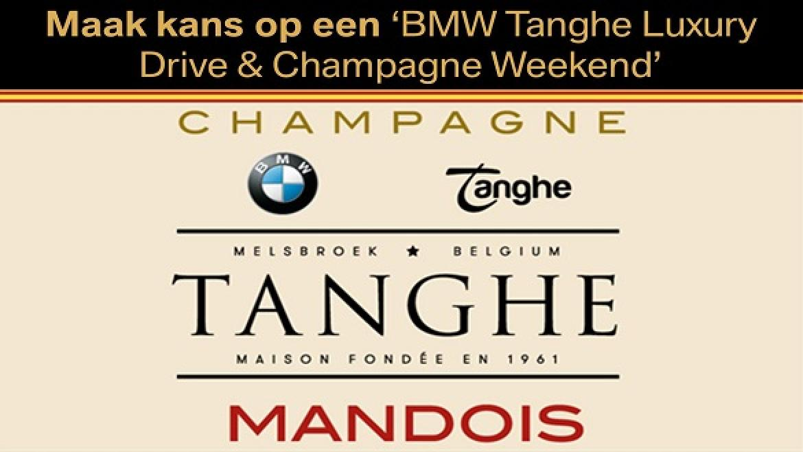 BMW Tanghe Luxury Drive & Champagne Weekend